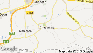 Plan de Chaponnay