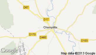 Plan de Champlitte