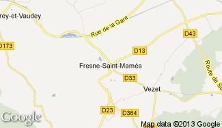 Plan de Fresne-Saint-Mamès