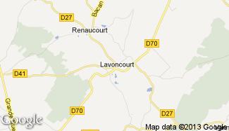 Plan de Lavoncourt