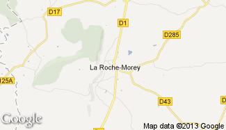 Plan de La Roche-Morey