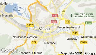 Plan de Vesoul