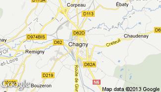 Plan de Chagny