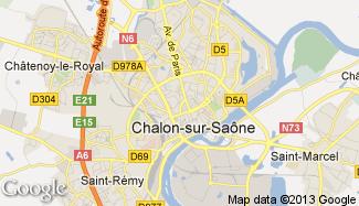 Plan de Chalon-sur-Saône