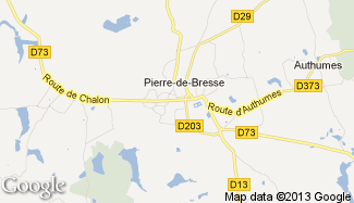Plan de Pierre-de-Bresse