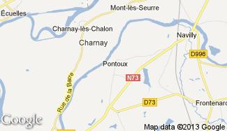Plan de Pontoux