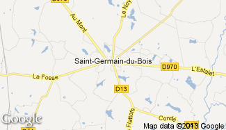 Plan de Saint-Germain-du-Bois