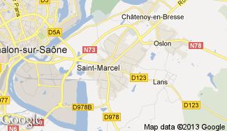 Plan de Saint-Marcel