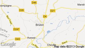 Plan de Brûlon