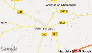 Plan de Vallon-sur-Gée