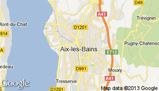 Plan de Aix-les-Bains