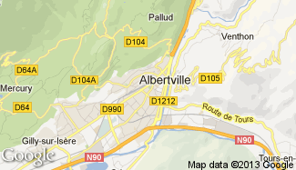 Plan de Albertville
