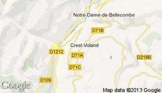 Plan de Crest-Voland