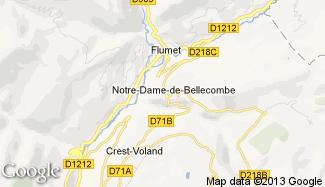 Plan de Notre-Dame-de-Bellecombe
