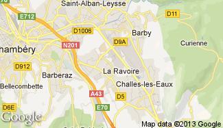 Plan de La Ravoire