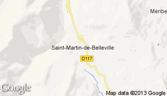 Plan de Saint-Martin-de-Belleville