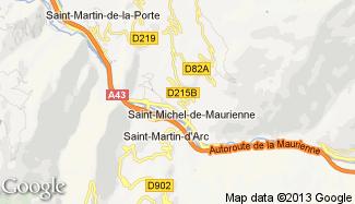 Plan de Saint-Michel-de-Maurienne