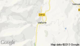 Plan de Valloire