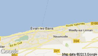 Plan de Évian-les-Bains