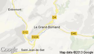 Plan de Le Grand-Bornand