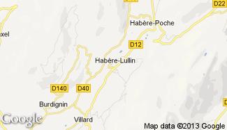 Plan de Habère-Lullin