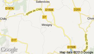 Plan de Mésigny