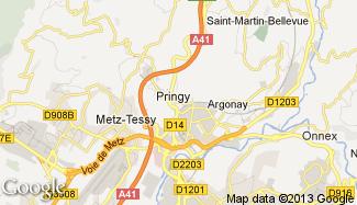 Plan de Pringy