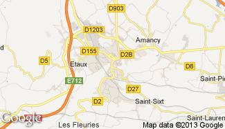 Plan de La Roche-sur-Foron