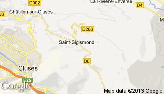 Plan de Saint-Sigismond