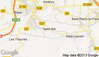 Plan de Saint-Sixt