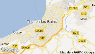 Plan de Thonon-les-Bains