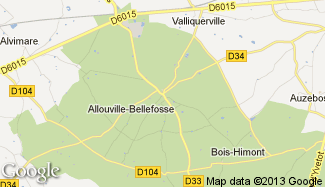 Plan de Allouville-Bellefosse