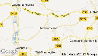 Plan de Ambrumesnil