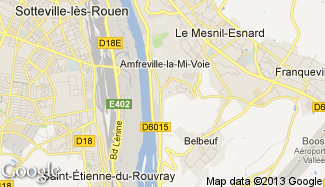 Plan de Amfreville-la-Mi-Voie