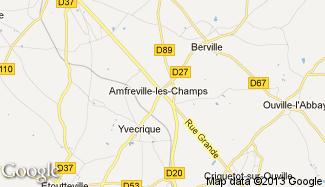 Plan de Amfreville-les-Champs