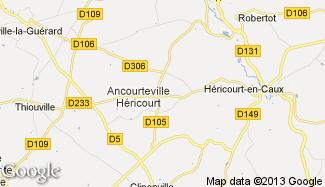Plan de Ancourteville-sur-Héricourt