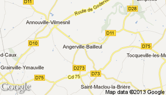 Plan de Angerville-Bailleul