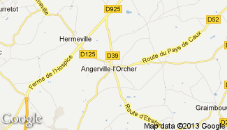 Plan de Angerville-l'Orcher