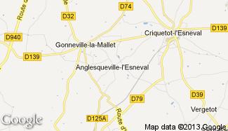 Plan de Anglesqueville-l'Esneval