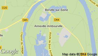 Plan de Anneville-Ambourville