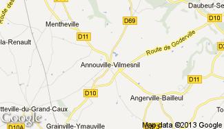 Plan de Annouville-Vilmesnil