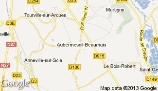 Plan de Aubermesnil-Beaumais