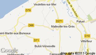 Plan de Auberville-la-Manuel