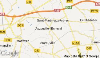 Plan de Auzouville-l'Esneval