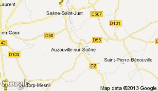 Plan de Auzouville-sur-Saâne