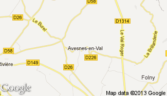 Plan de Avesnes-en-Val