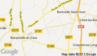 Plan de Bacqueville-en-Caux