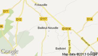 Plan de Bailleul-Neuville