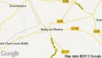 Plan de Bailly-en-Rivière