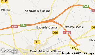 Plan de Baons-le-Comte